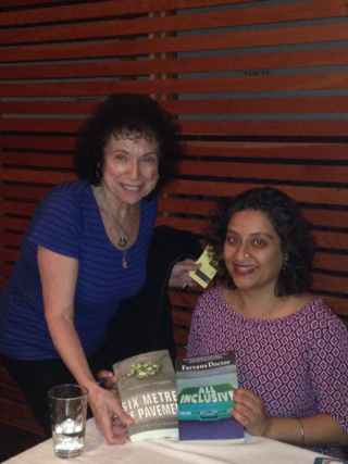 Farzana Doctor and Lea at NYCL May 24, 2016