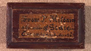 Prisoner's Box 1838 1